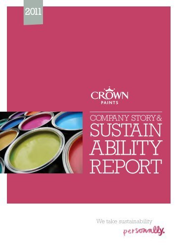 Crown Sustainability Report 2011 - Sadolin