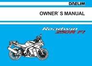 Daelim VJF250 Owners Manual - Mojo