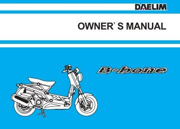 110cc Motorcycle service Manual