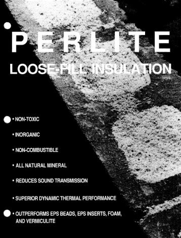 Perlite loose-fill'insulation - Europerl