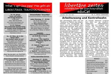 Nr.5 - Winter 2004/2005 - anarchosyndikalismus.org