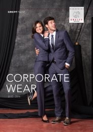 CORPORATE WEAR | 2013 – 2014 - GREIFF Mode