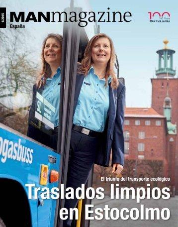 MANmagazine Bus España 1/2015