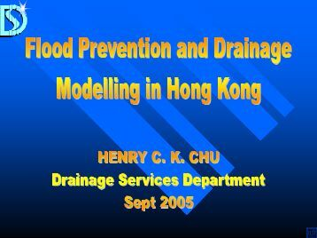 Flood Prevention and Drainage Modeling in Hong Kong