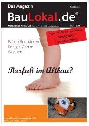 BAULOKAL.DE - DAS MAGAZIN AUSGABE 1/2015 Märkischer Kreis (MK)