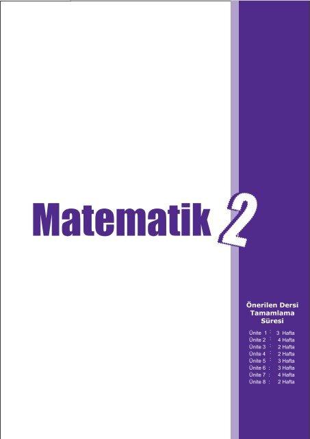 Ilkokul Matematik Dersi Ogretim Programi Taslagi 2 Sinif