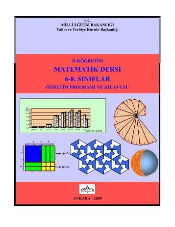 ilköğretim matematik dersi 6-8. sınıflar öğretim programı