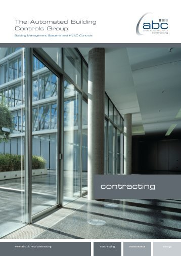 contracting - ABC: The Automated Buildings Controls Group - Uk.net