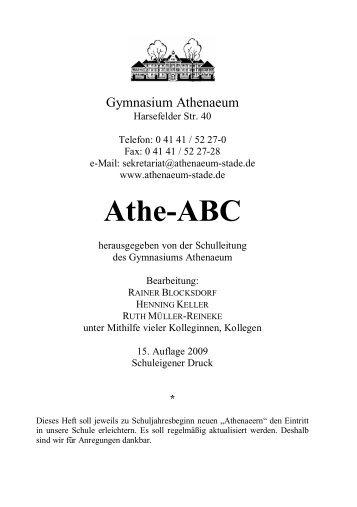 Athe-ABC - Athenaeum Stade