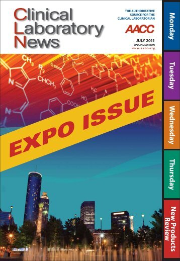 Clinical Laboratory News Expo Issue July 2011 - American ...