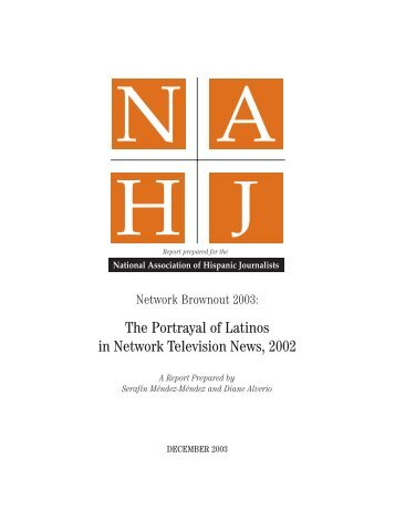 NAHJ 2003 Network Brownout Report
