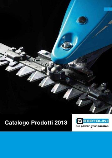 Catalogo Prodotti 2013 - Bertolini