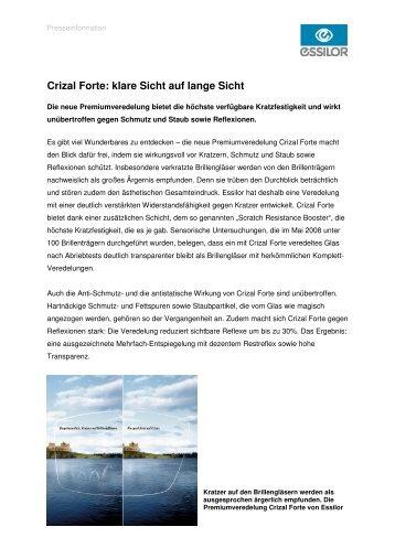 03695478e40 Pressemitteilung - Essilor GmbH
