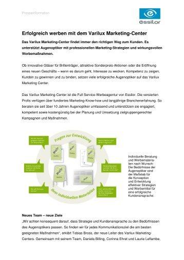 1b4d37bd064 Erfolgreich werben mit dem Varilux Marketing-Center - Essilor GmbH