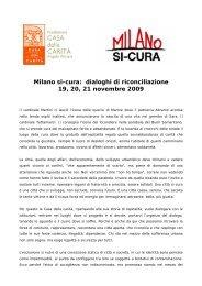 Don Virginio Colmegna: dialoghi di riconciliazione - Provincia solidale