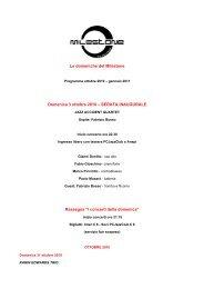 I concerti della domenica - Provincia solidale