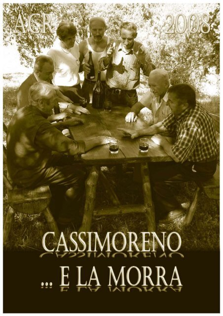 Il calendario di ACR Cassimoreno-Roffi - Provincia solidale