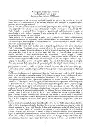 A Senigallia il tradizionale seminario - Provincia solidale