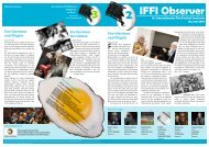 IFFI Observer - Internationales Film Festival Innsbruck