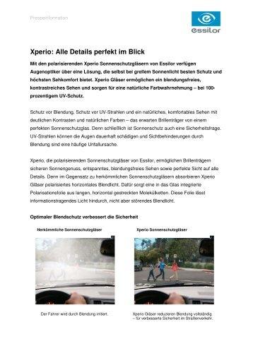 144a27e5294 Xperio  Alle Details perfekt im Blick - Essilor GmbH