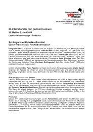 Schlingensief-Kubelka-Pasolini - Internationales Film Festival ...
