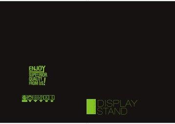 Blue Nova Designs Print Display Catalogue