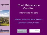 Road Maintenance Condition