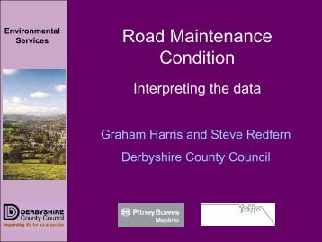 Road Maintenance Condition