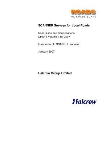 07-02-05 draft v05 Volume 1 SCANNER User Guide.pdf - Pavement ...