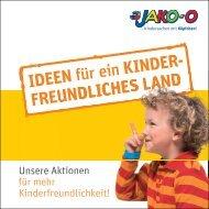 Unsere Aktionen für mehr Kinderfreundlichkeit! - Jako-o