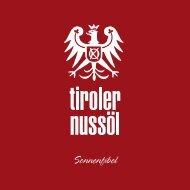 Sonnenfibel - Tiroler Nussöl