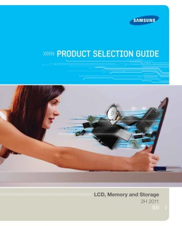 PRODUCT SELECTION GUIDE - Samsung