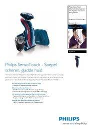 RQ1175/16 Philips elektrisch scheerapparaat met Aquatec voor nat ...