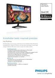 272C4QPJKAB/00 Philips LCD-monitor met webcam, MultiView