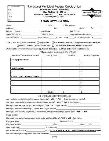 photograph about Printable Car Loan Application named Car or truck bank loan credit score software program pdf