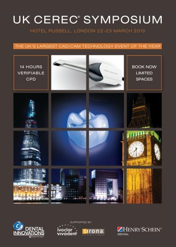 UK CEREC® SYMPOSIUM - Dentinal Tubules