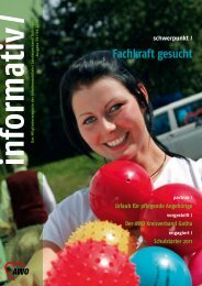 Informativ Ausgabe 59 - AWO - Thüringen