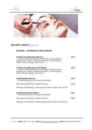 WELLNESS & BEAUTY - Praxis Wielobinski