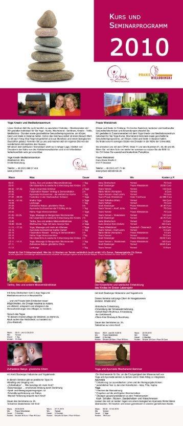 Yoga Kreativ und Medltatioriszeritrum - Praxis Wielobinski