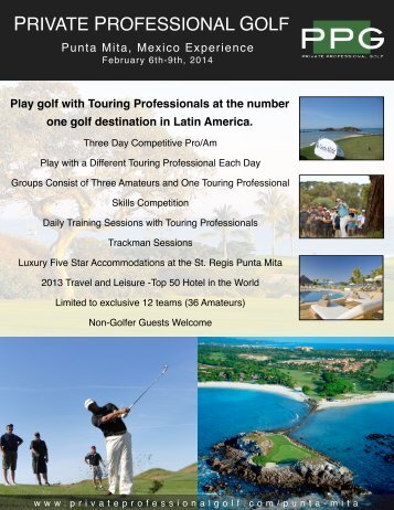 Punta Mita Experience Feb2014 (final)pages - Roger Furrer