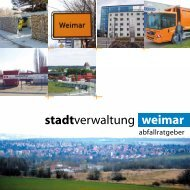 Abfallratgeber 2012 - Stadt Weimar