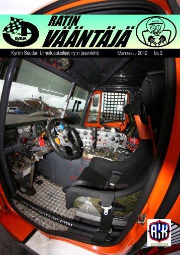 Marraskuu 2012 No 3 - KySUA