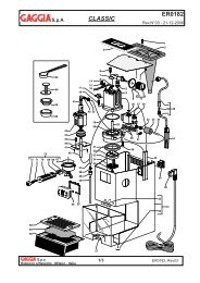 ER0182 Rev03.indd - gaggia manual service