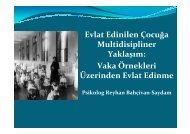Evlat Edinilen Çocuğa Multidisipliner Yaklaşım - Sosyal Pediatri ...