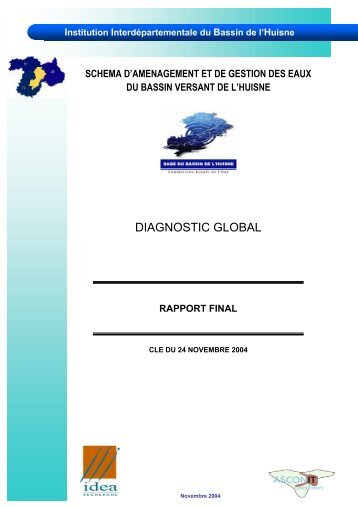 DIAGNOSTIC GLOBAL - (SAGE) du bassin de l'Huisne