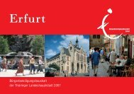 Bürgerbeteiligungshaushalt der Thüringer Landeshauptstadt Erfurt ...