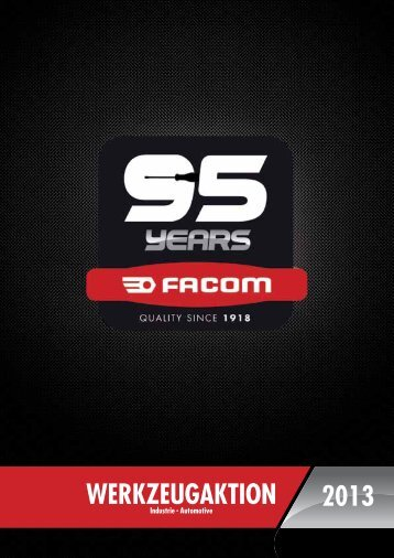 werkZeugaktIOn 2013 - FACOM SHOP