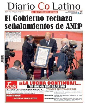 Edición 25 de Junio de 2015