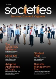 Student Trial Disaster Management Trial Social IOT ... - Societies