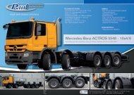 Special Trucks & Chassis - Paul Nutzfahrzeuge
